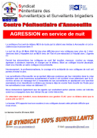 Annoeullin agression en servicede nuit