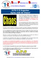 Argentan apres midi de chaos