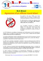 Brest agression d un officier