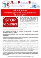 Brest violente agression