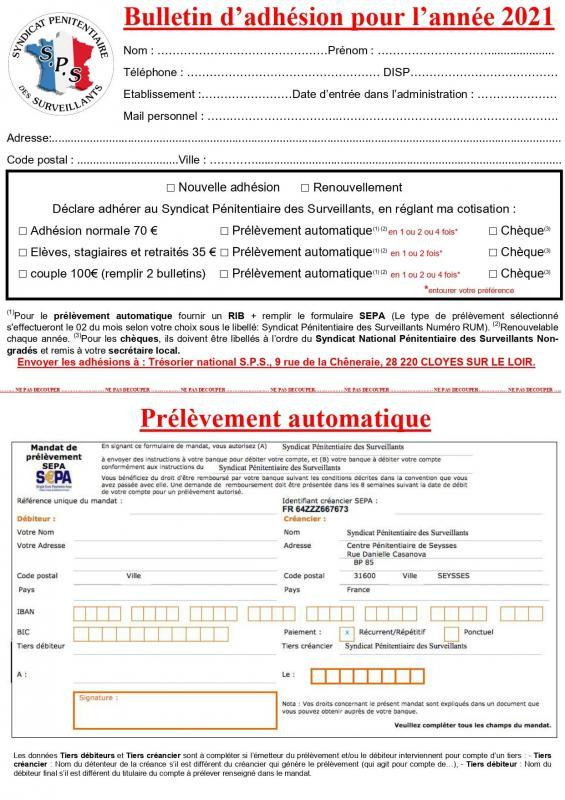 Bulletin d adhesion 2021 page 0001