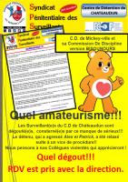 Chateaudun quel amateurisme