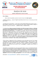 Chateauroux analyse de texte
