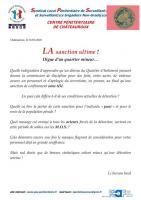Chateauroux la sanction ultime