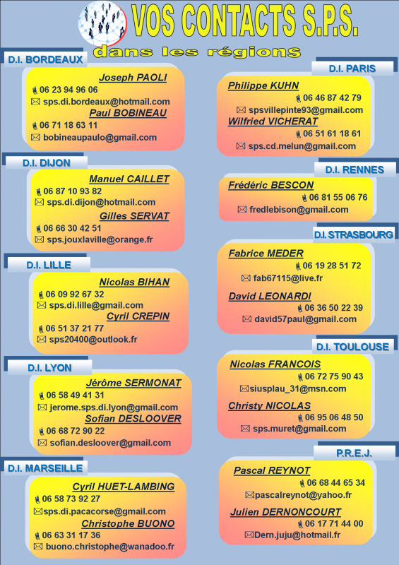 Contacts regionaux 4