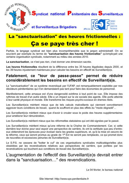 Heures frictionnelles aa6
