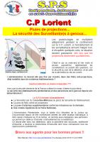 Lorient pluies de projections
