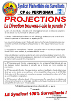 Perpignan projections la direction