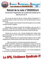 Seysses retrait de la note 2020